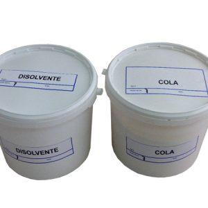Cola y Disolvente para Discos